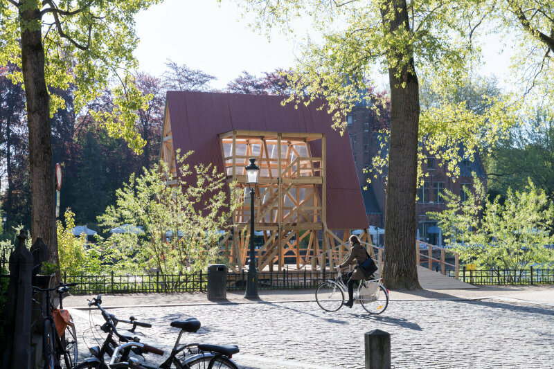 Triennale Brugge 2018 / NLÉ MFS III - Minne Floating School