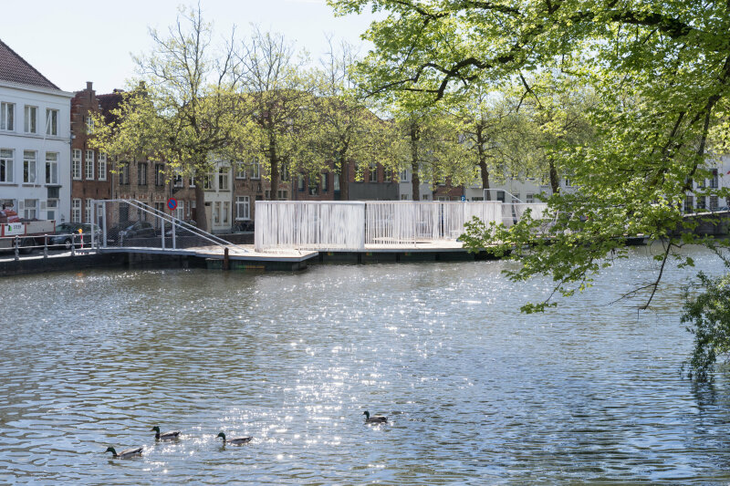Triennale Brugge 2018 / OBBA - The Floating Island