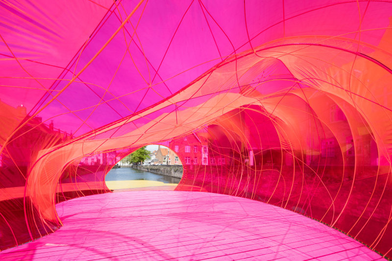Triennale Brugge 2018 / selgascano pavilion