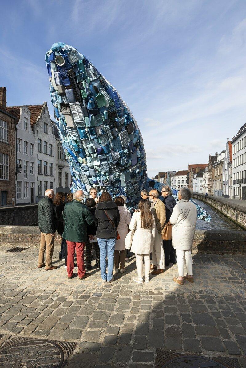 Triennale Brugge 2018 / StudioKCA - Skyscraper (the Bruges Whale)