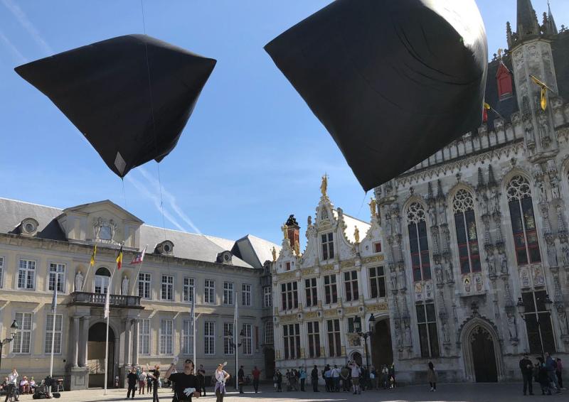 Triennale Brugge 2018 / Tomás Saraceno - Aerocene