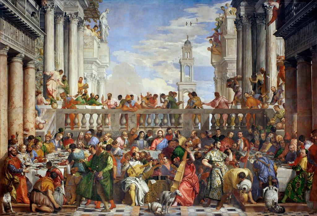 Veronese, Les Noces De Cana, 1563