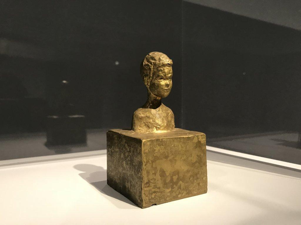 Vue de l'exposition Alberto Giacometti, entre tradition et avant-garde - Musée Maillol