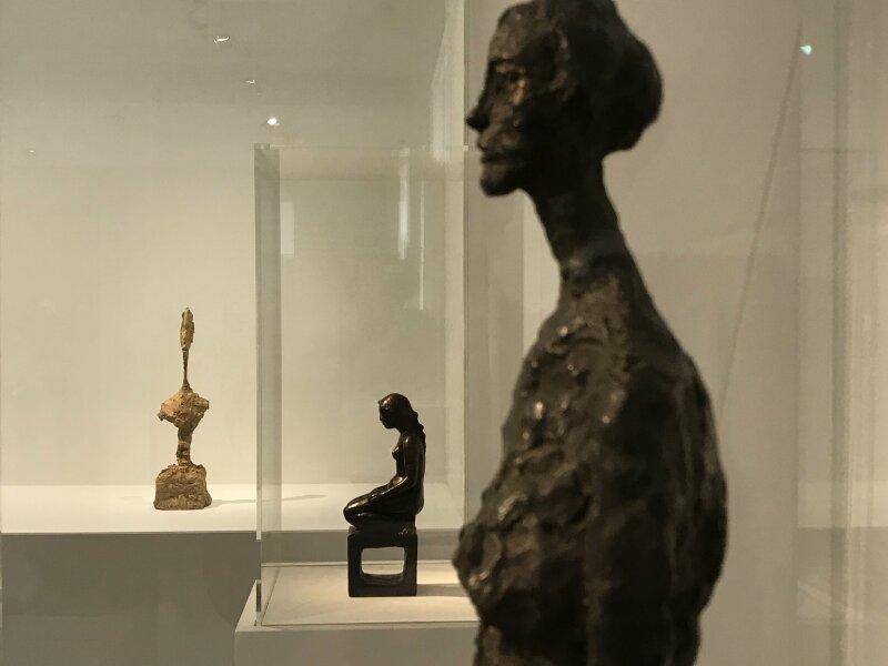 Vue de l'exposition Alberto Giacometti, entre tradition et avant-garde - Musée Maillol (50)