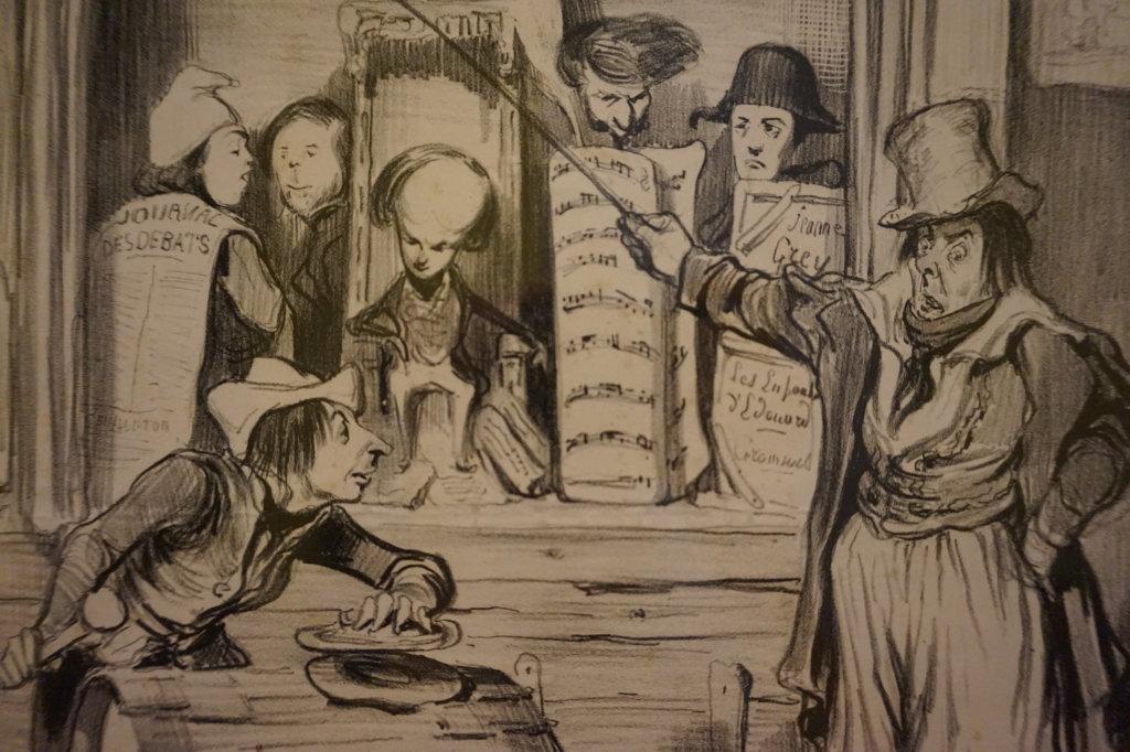 Vue de l'exposition Caricatures - Maison Victor Hugo (12)