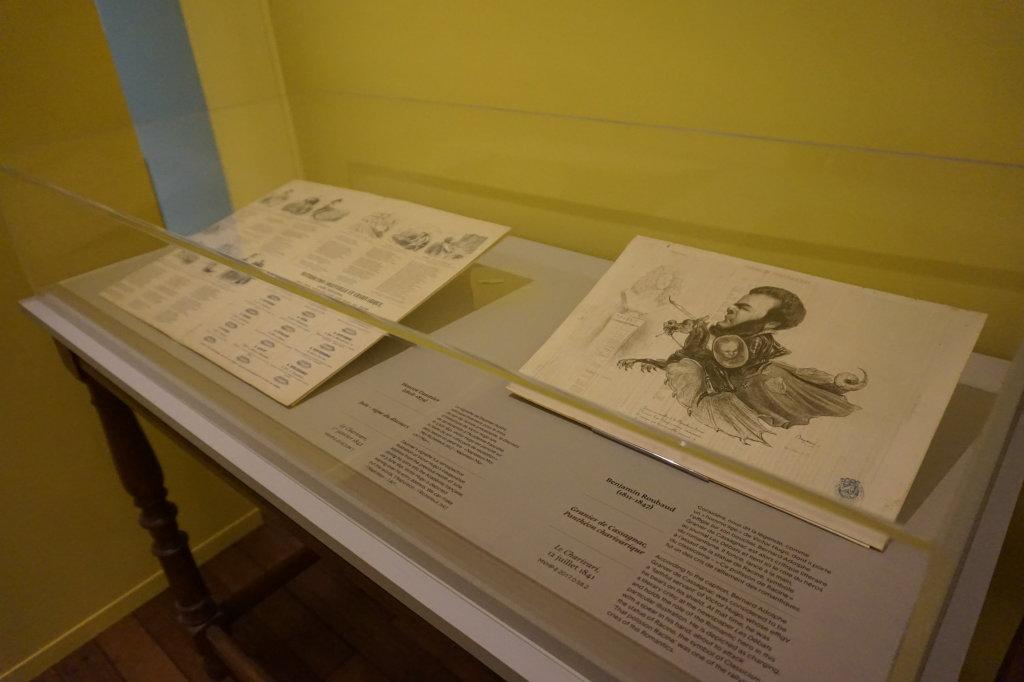 Vue de l'exposition Caricatures - Maison Victor Hugo (13)