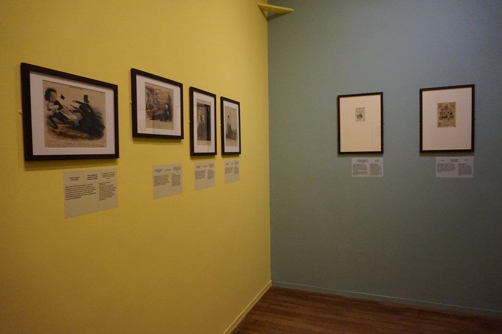 Vue de l'exposition Caricatures - Maison Victor Hugo (17)