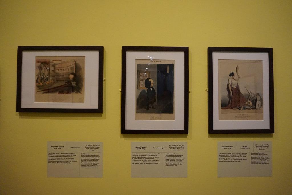 Vue de l'exposition Caricatures - Maison Victor Hugo (18)