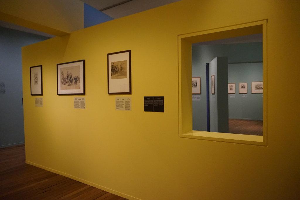 Vue de l'exposition Caricatures - Maison Victor Hugo (19)