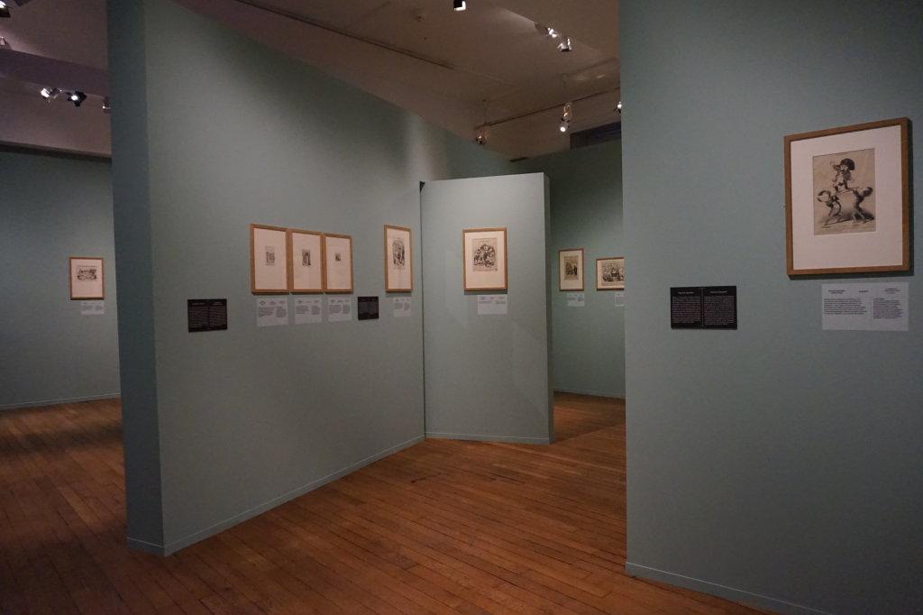 Vue de l'exposition Caricatures - Maison Victor Hugo (21)