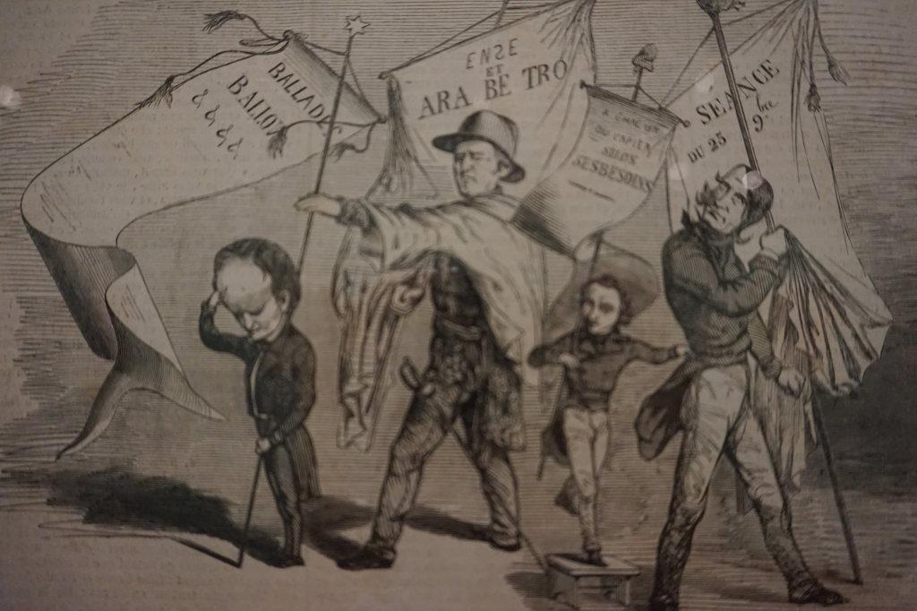Vue de l'exposition Caricatures - Maison Victor Hugo (22)