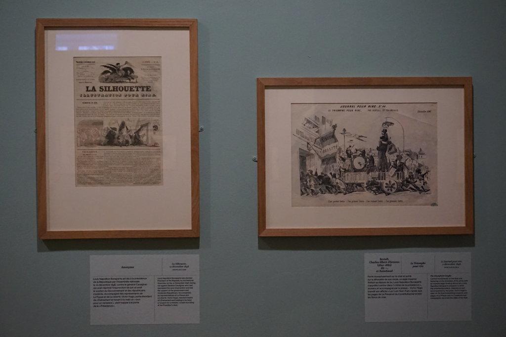 Vue de l'exposition Caricatures - Maison Victor Hugo (23)