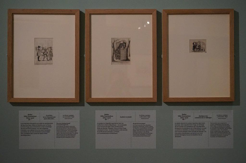 Vue de l'exposition Caricatures - Maison Victor Hugo (25)