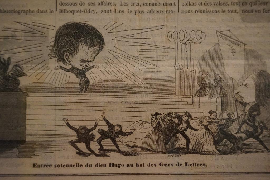 Vue de l'exposition Caricatures - Maison Victor Hugo (27)