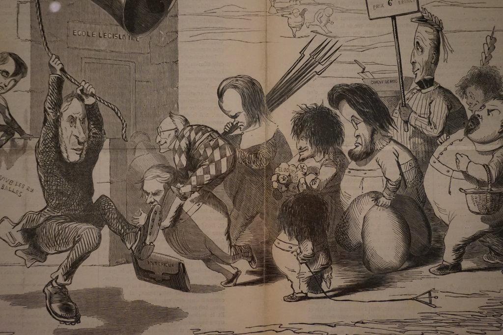 Vue de l'exposition Caricatures - Maison Victor Hugo (29)