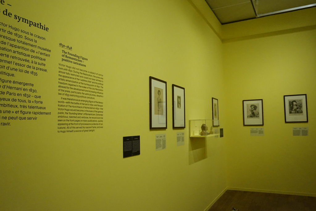 Vue de l'exposition Caricatures - Maison Victor Hugo (3)