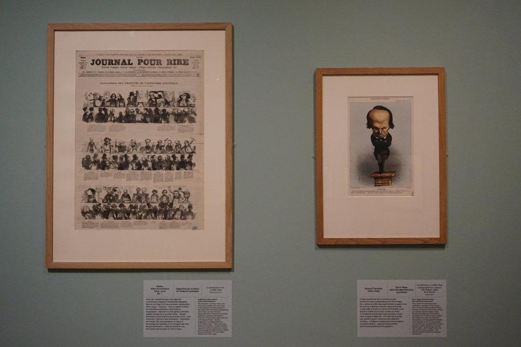 Vue de l'exposition Caricatures - Maison Victor Hugo (32)