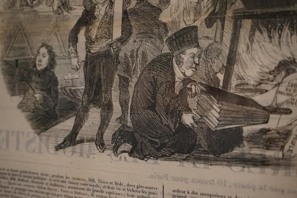 Vue de l'exposition Caricatures - Maison Victor Hugo (35)