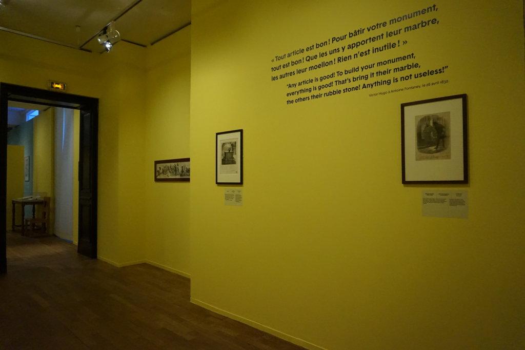 Vue de l'exposition Caricatures - Maison Victor Hugo (4)