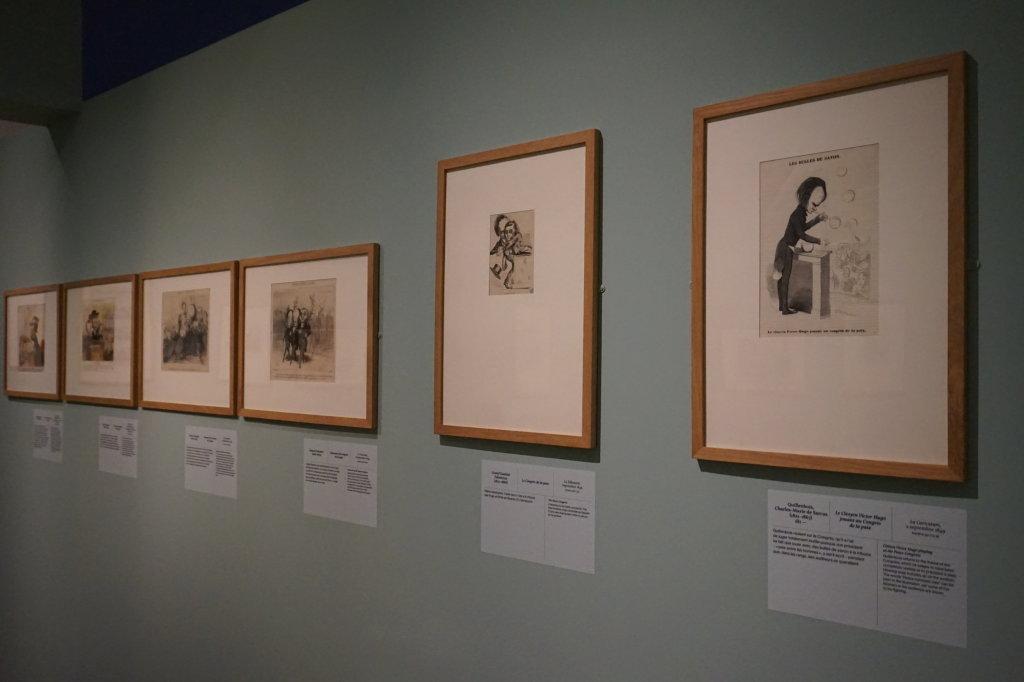 Vue de l'exposition Caricatures - Maison Victor Hugo (40)