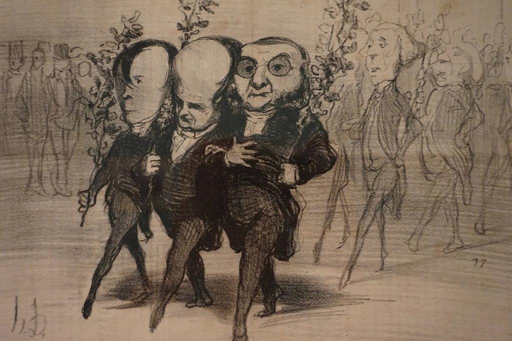 Vue de l'exposition Caricatures - Maison Victor Hugo (41)