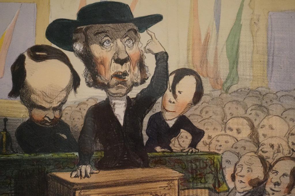 Vue de l'exposition Caricatures - Maison Victor Hugo (42)