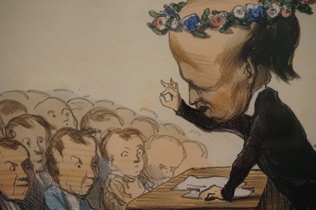 Vue de l'exposition Caricatures - Maison Victor Hugo (44)