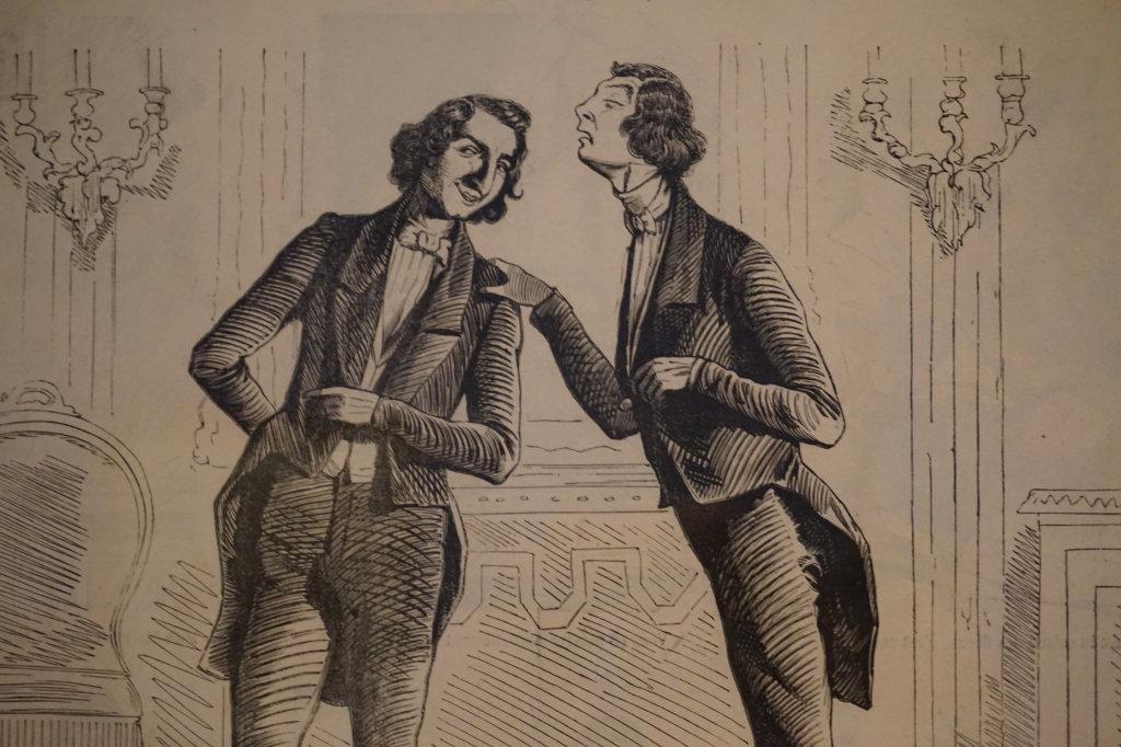 Vue de l'exposition Caricatures - Maison Victor Hugo (48)