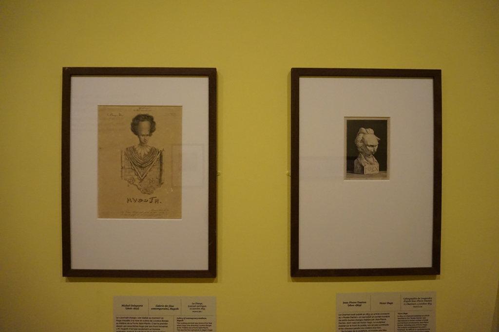 Vue de l'exposition Caricatures - Maison Victor Hugo (5)