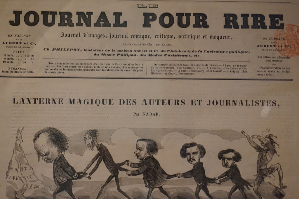 Vue de l'exposition Caricatures - Maison Victor Hugo (50)