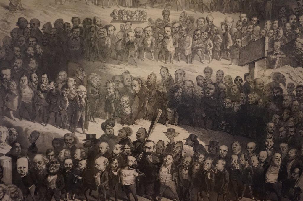 Vue de l'exposition Caricatures - Maison Victor Hugo (53)