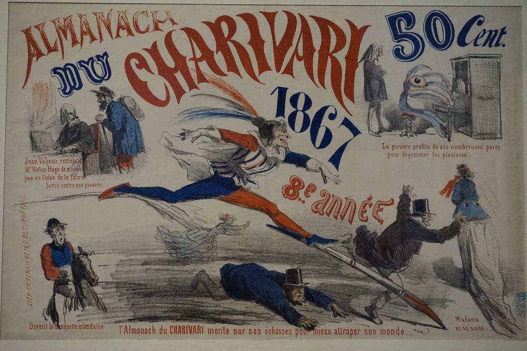 Vue de l'exposition Caricatures - Maison Victor Hugo (63)