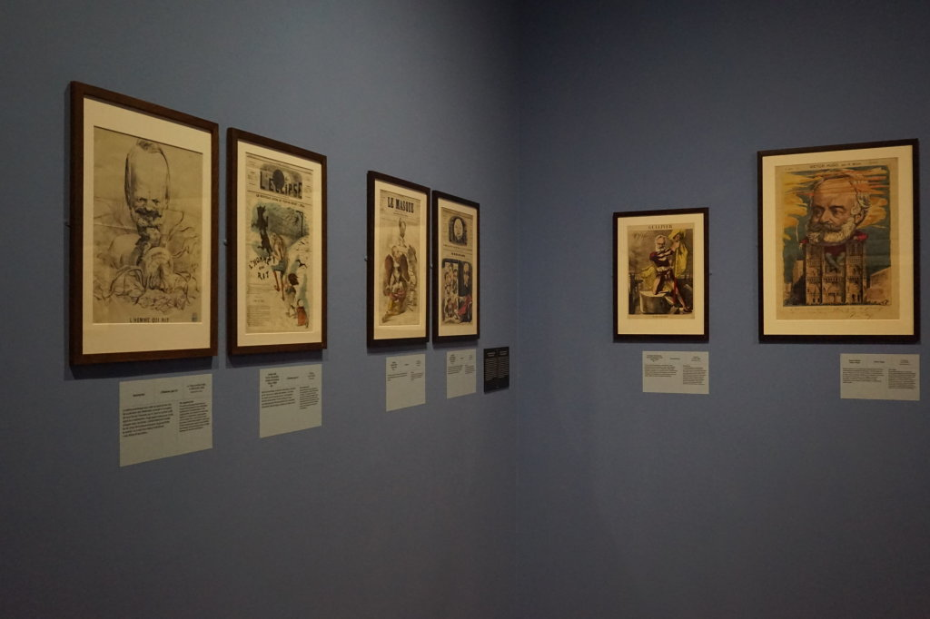 Vue de l'exposition Caricatures - Maison Victor Hugo (68)