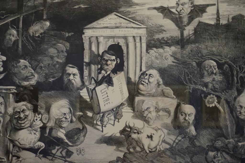 Vue de l'exposition Caricatures - Maison Victor Hugo (69)