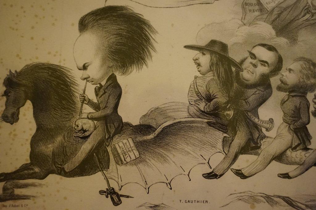 Vue de l'exposition Caricatures - Maison Victor Hugo (7)