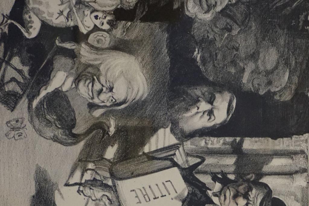 Vue de l'exposition Caricatures - Maison Victor Hugo (70)