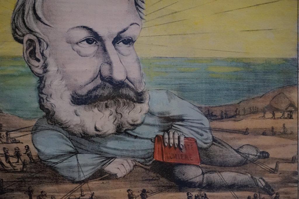 Vue de l'exposition Caricatures - Maison Victor Hugo (71)