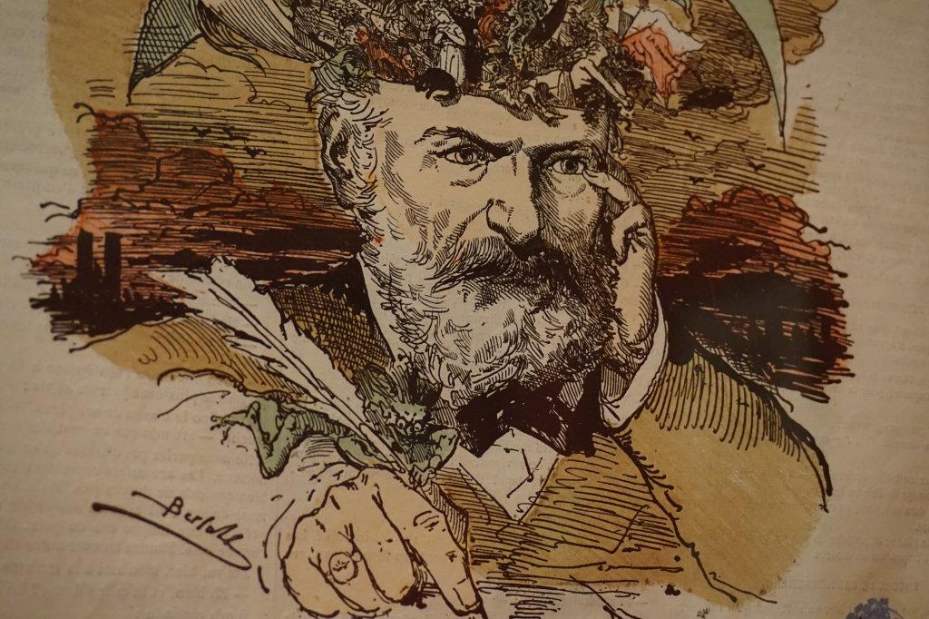 Vue de l'exposition Caricatures - Maison Victor Hugo (73)