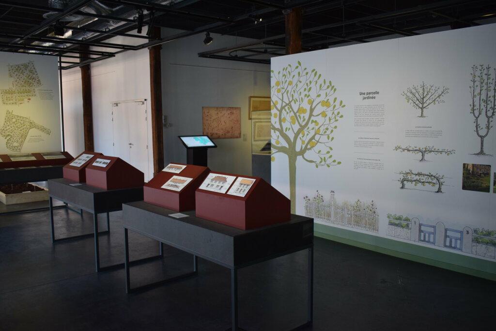 Vue de l'exposition Cités jardins, cités de demain - La Fabrique des Savoirs, Elbeuf (16)