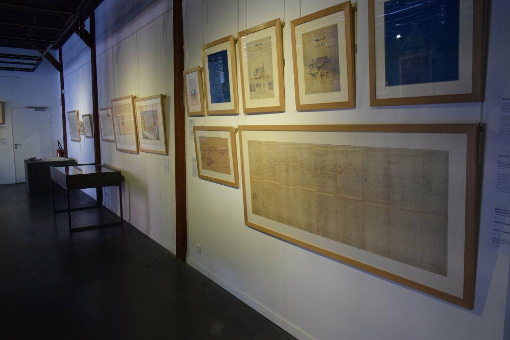 Vue de l'exposition Cités jardins, cités de demain - La Fabrique des Savoirs, Elbeuf (20)