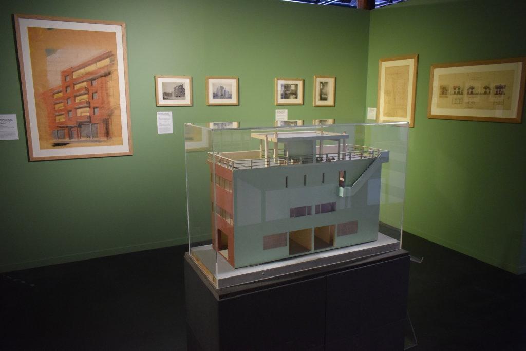 Vue de l'exposition Cités jardins, cités de demain - La Fabrique des Savoirs, Elbeuf (23)