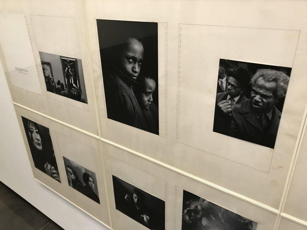Vue de l'exposition Dave Heath - Le Bal