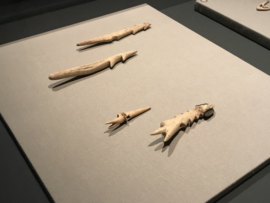Vue de l'exposition Jômon - Maison de la CUlture du Japon à Paris