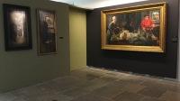 Vue de l'exposition Léon Frédéric, un autre réalisme - Musée Courbet, Ornans (1)