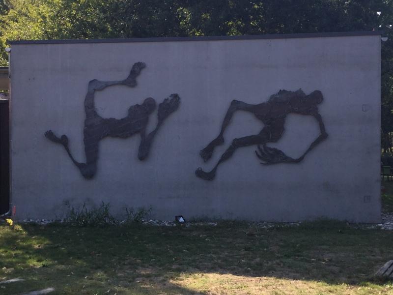 Vue de l'exposition Lydie Arickx au Carré - Galerie Airial, Mimizan