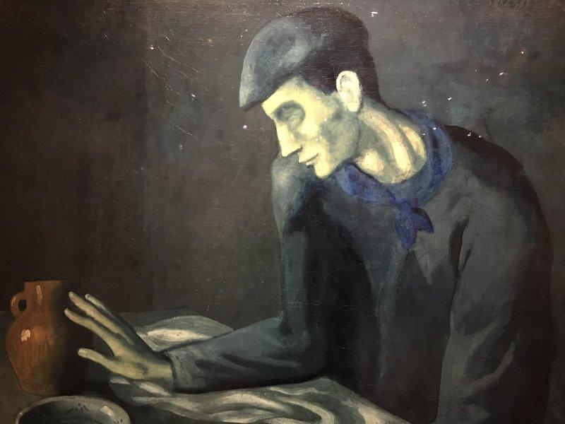 Vue de l'exposition Picasso bleu et rose - Musée d'Orsay (56)