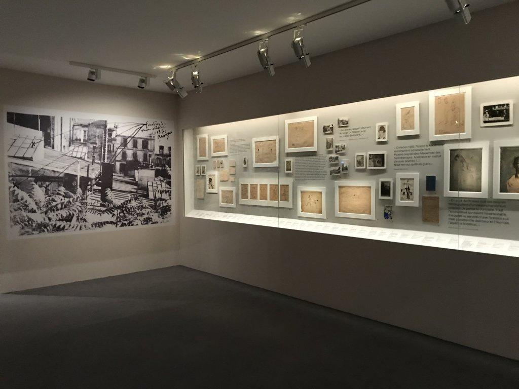 Vue de l'exposition Picasso bleu et rose - Musée d'Orsay (59)