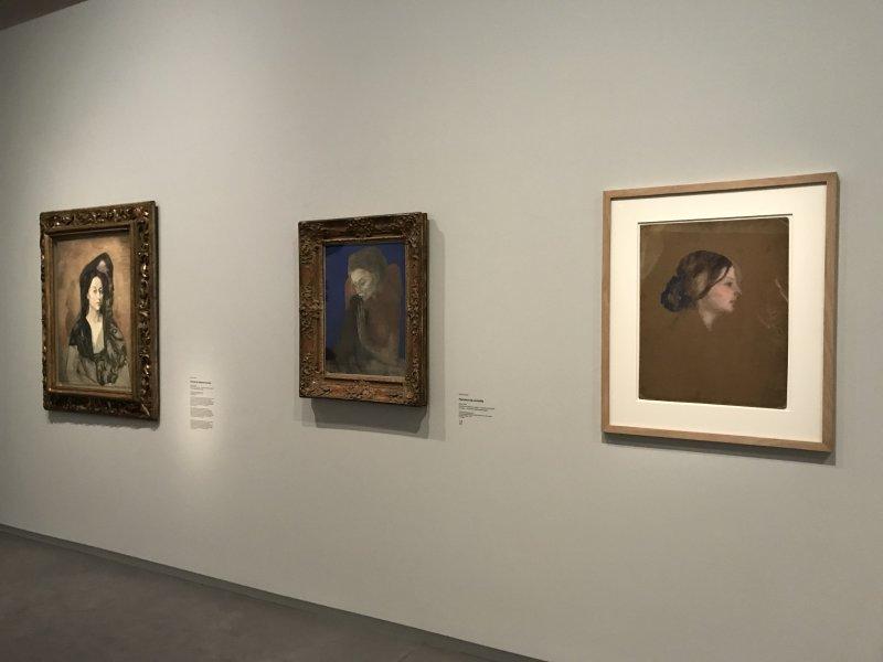 Vue de l'exposition Picasso bleu et rose - Musée d'Orsay (60)