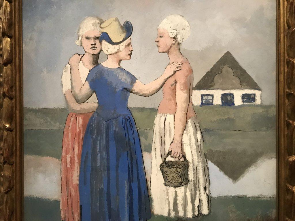 Vue de l'exposition Picasso bleu et rose - Musée d'Orsay (65)