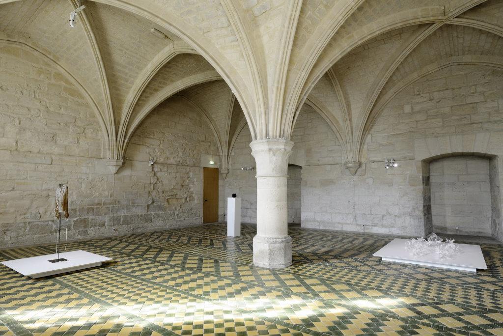 Vue d'ensemble, exposition de Patrick Neu a l abbaye de Maubuisson, Photo C. Brossais-CDVO (1)